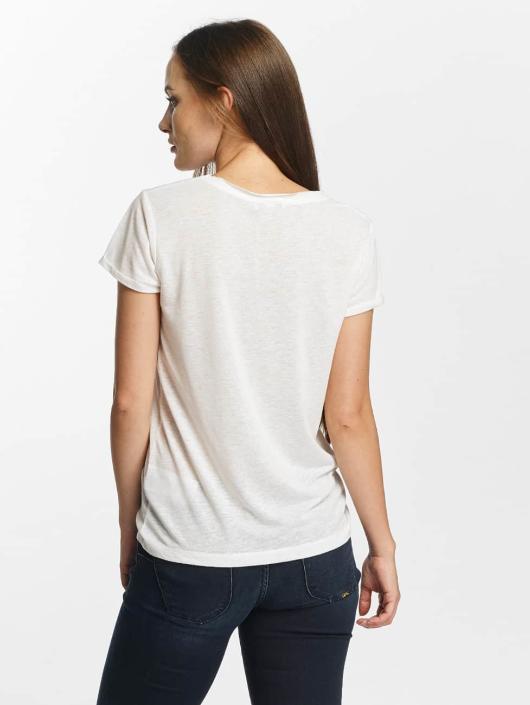 Le Temps Des Cerises T-Shirty Basitrame bialy