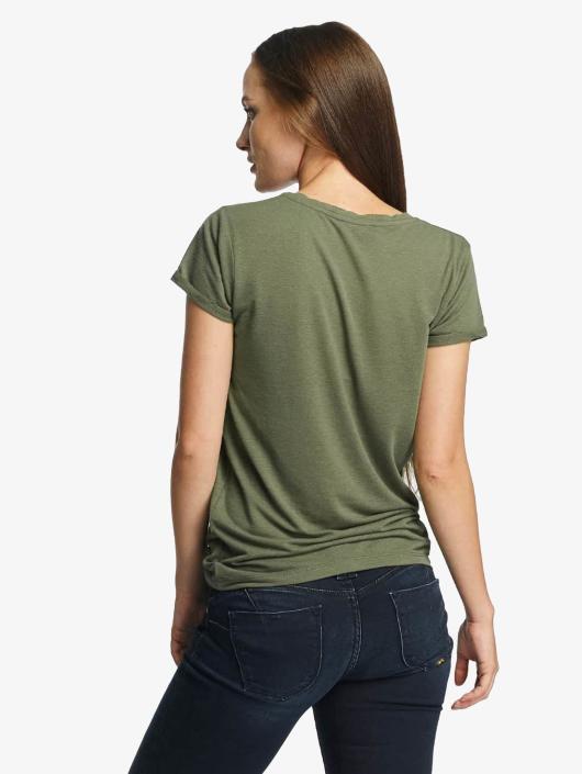 Le Temps Des Cerises T-Shirty Basitrame khaki
