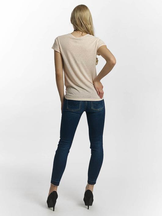 Le Temps Des Cerises T-Shirty Basitrame rózowy