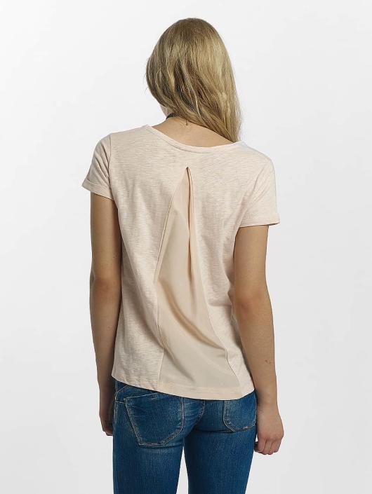 Le Temps Des Cerises T-Shirty Explove rózowy