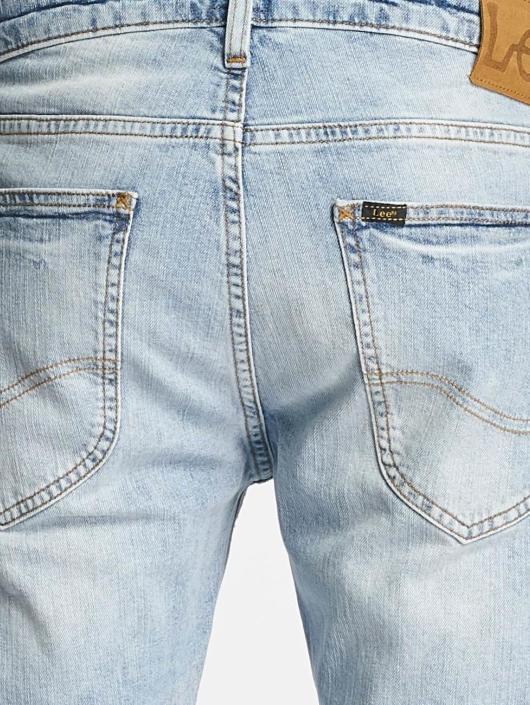 Lee dżinsy przylegające Luke niebieski