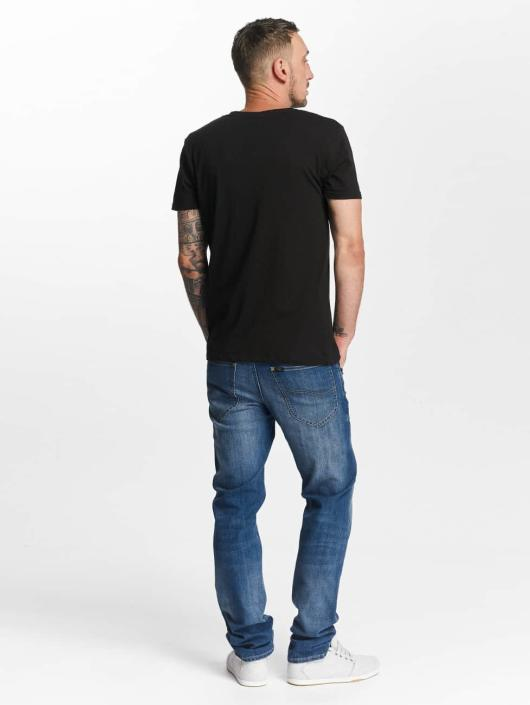 Lee dżinsy przylegające Daren niebieski
