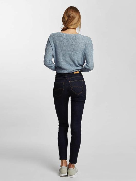 Lee High Waisted Jeans Scarlett blue