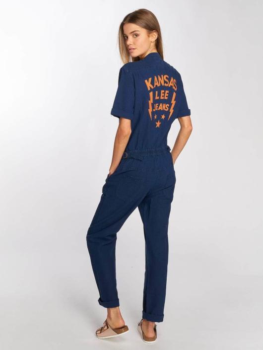 Lee Jumpsuit Dusk blau