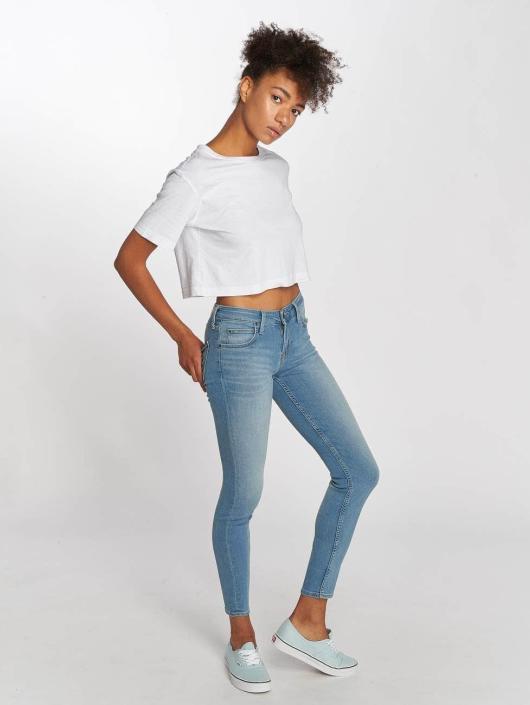 Lee Skinny Jeans Scarlett modrý