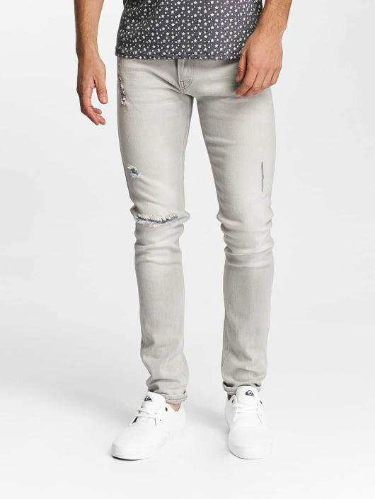 Lee Slim Fit Jeans Luke grå