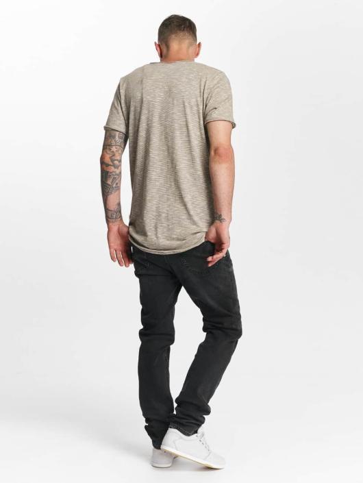Lee Slim Fit Jeans Rider grau