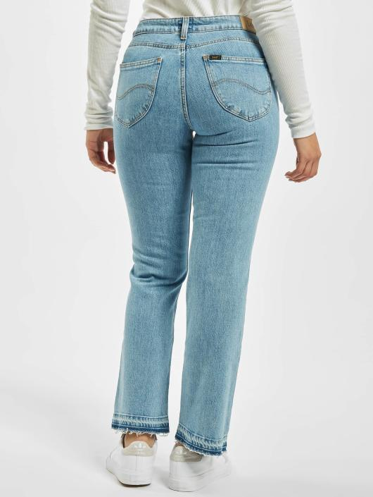 Lee Straight Fit Jeans Cropped Boot blå