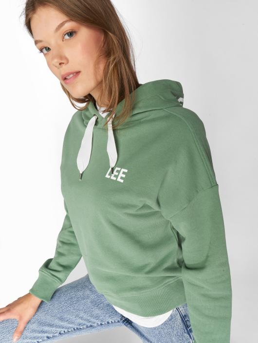 Lee Sweat capuche Lazy vert