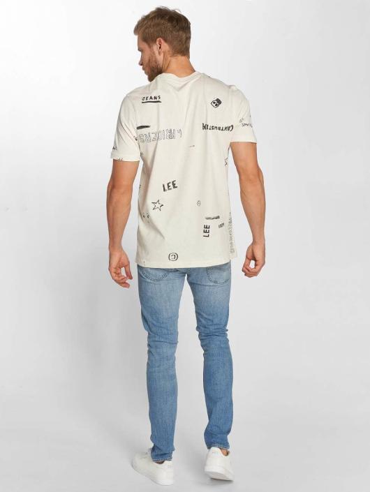 Lee T-Shirt Graphic beige
