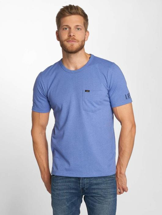 Lee T-Shirt Pocket blau
