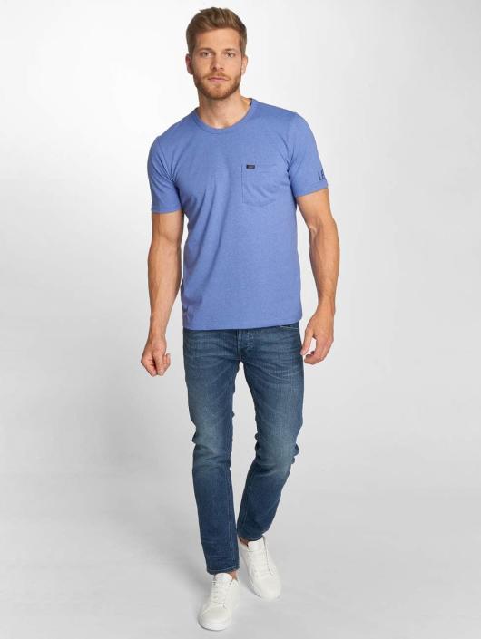 Lee T-Shirt Pocket blau