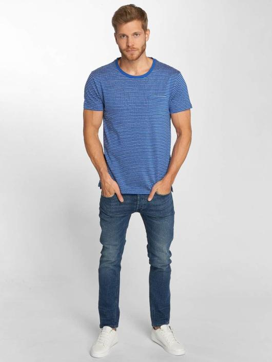 Lee T-Shirt Core Stripe bleu