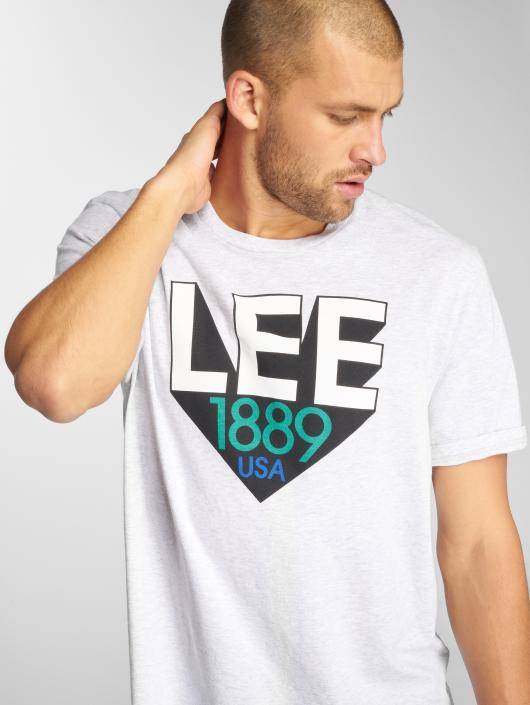 Lee T-Shirt Retro gris