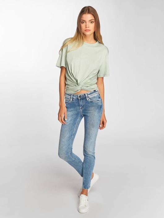 Lee T-Shirt Knotted grün