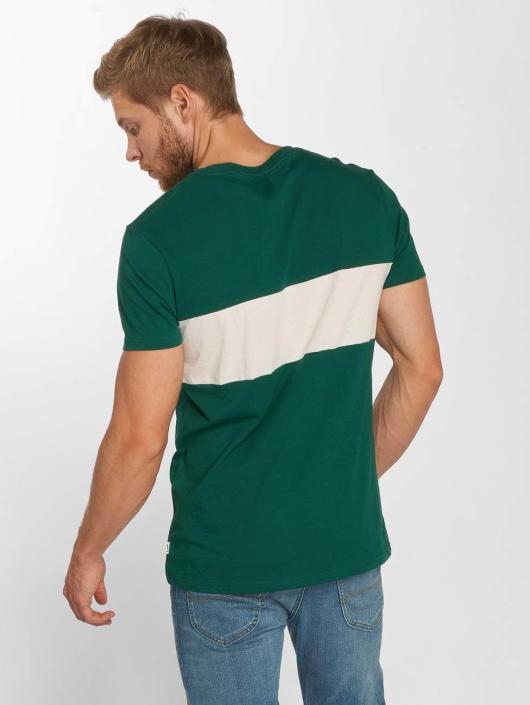 Lee T-Shirt Blocking grün