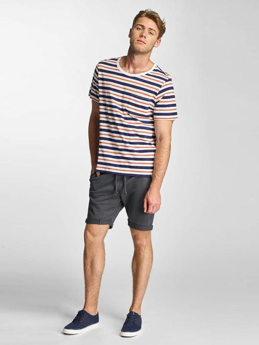 Lee T-Shirt Stripe weiß