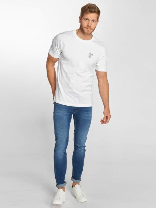 Lee T-Shirt Peace weiß
