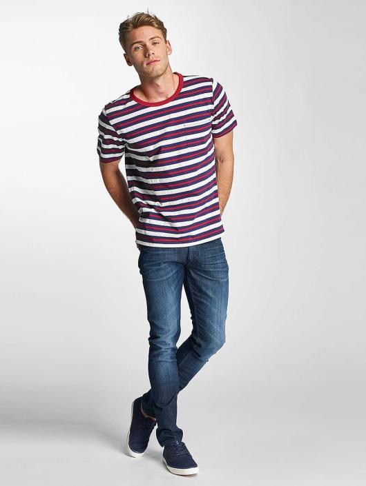 Lee T-Shirty Stripe niebieski