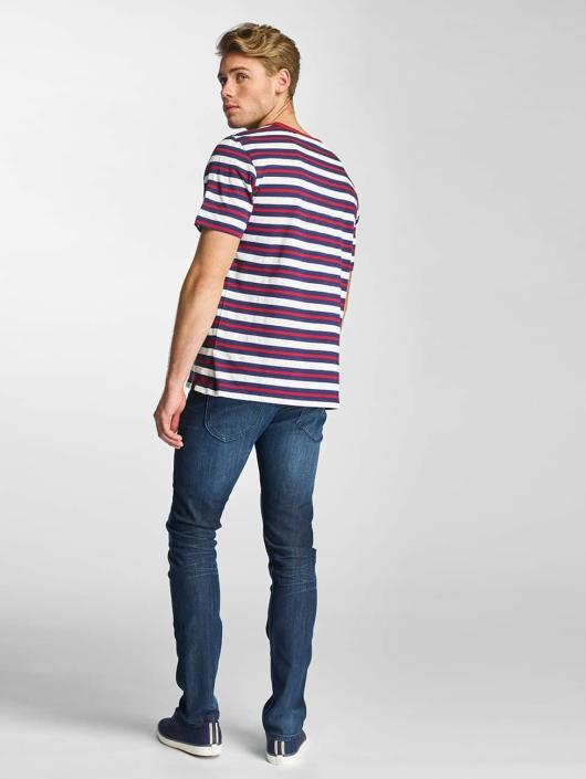 Lee T-skjorter Stripe blå