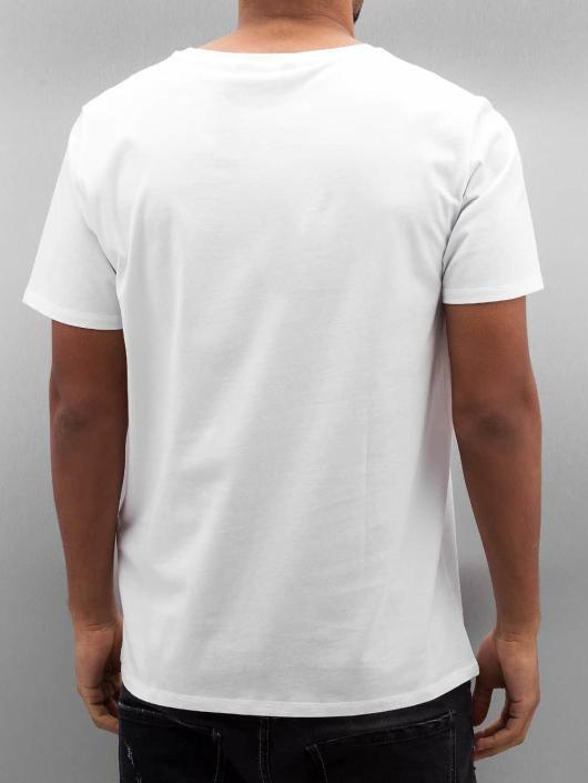 Lee Tričká Logo biela