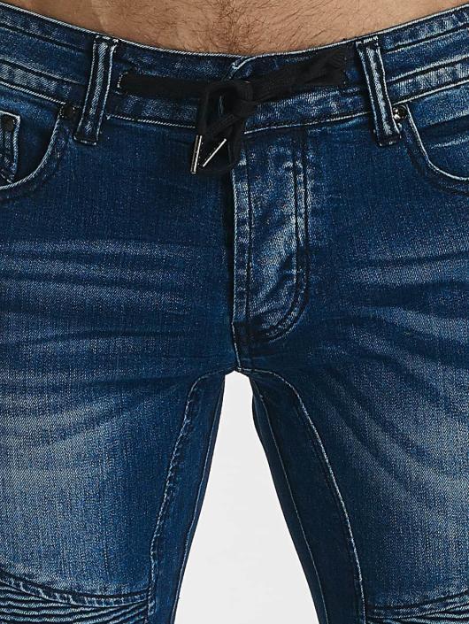 Leg Kings Carrot Jeans Ribbed Carrot niebieski