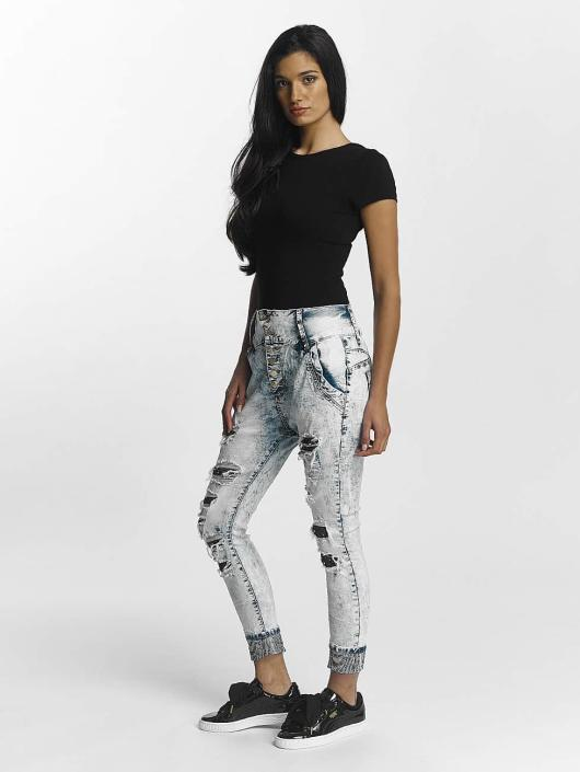 Original Bleu 463961 Leg Femme Jean Denim Boyfriend Kings gYb6y7f