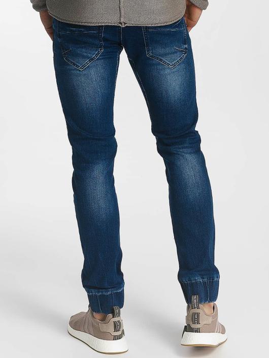 Leg Kings Jean large coupe droite Ribbed Carrot bleu