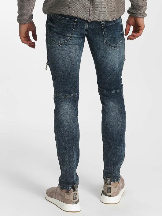 Leg Kings Jean skinny Zipper bleu