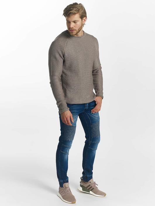 Leg Kings Karottenjeans Ribbed Carrot blau