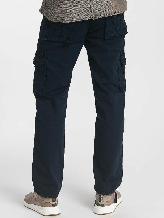 Leg Kings Loose Fit Jeans Bags niebieski