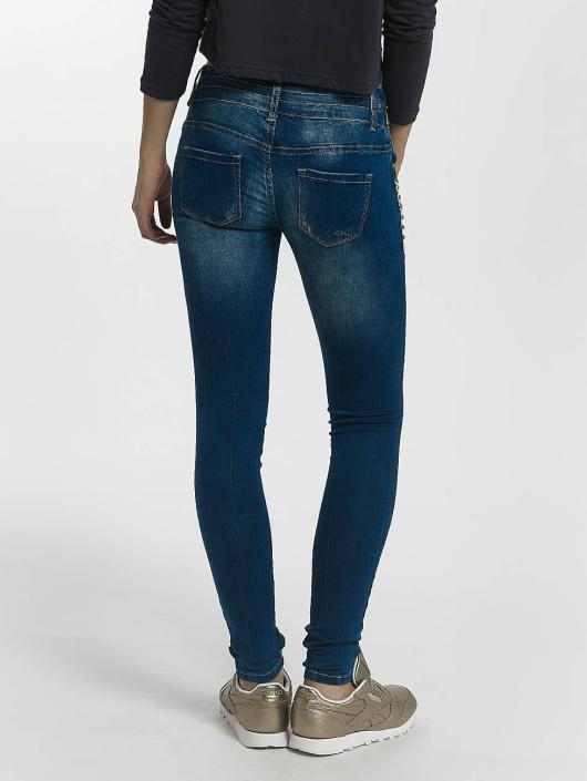 Leg Kings Skinny Jeans Diamond blau