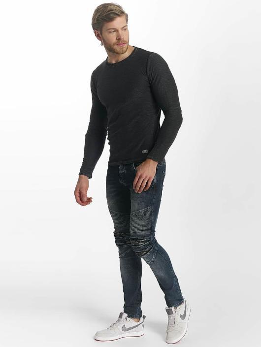 Leg Kings Skinny Jeans Ribbed blau