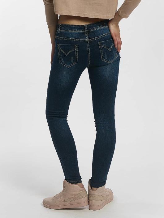 Leg Kings Skinny Jeans Diker blau