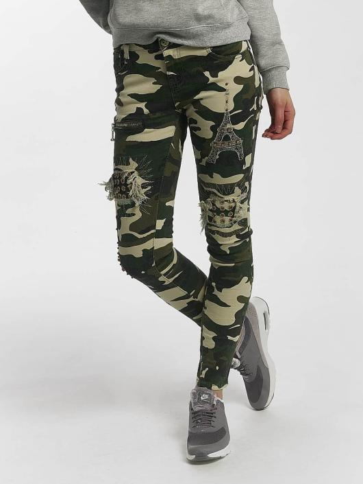 Leg Kings Skinny Jeans Deep Forest camouflage