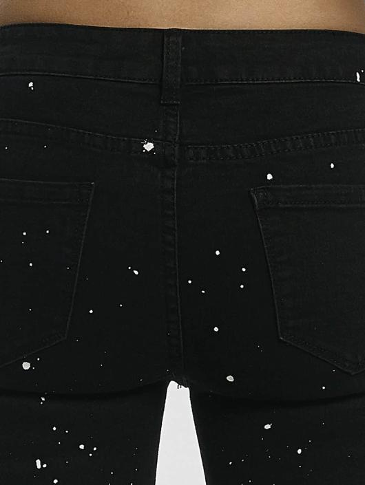 Leg Kings Skinny Jeans KatjaBLACK czarny