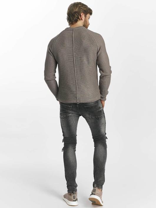 Leg Kings Skinny Jeans Zipper gray