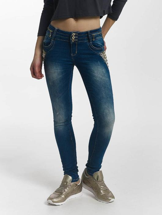 Leg Kings Skinny Jeans Diamond niebieski