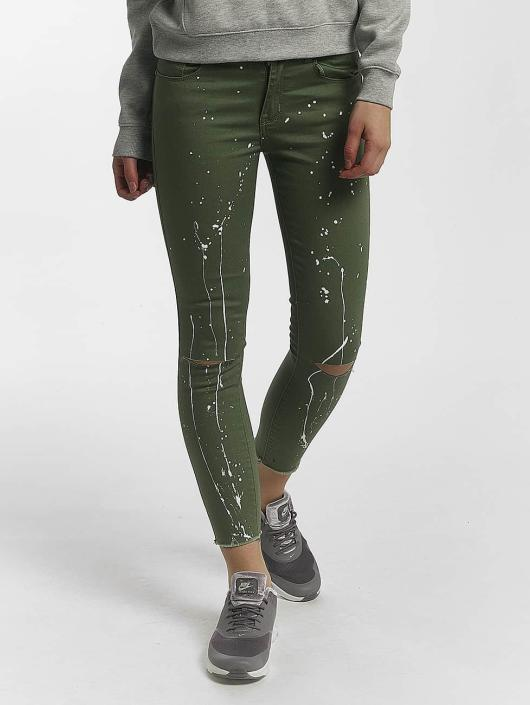 Leg Kings Skinny Jeans Katja oliwkowy