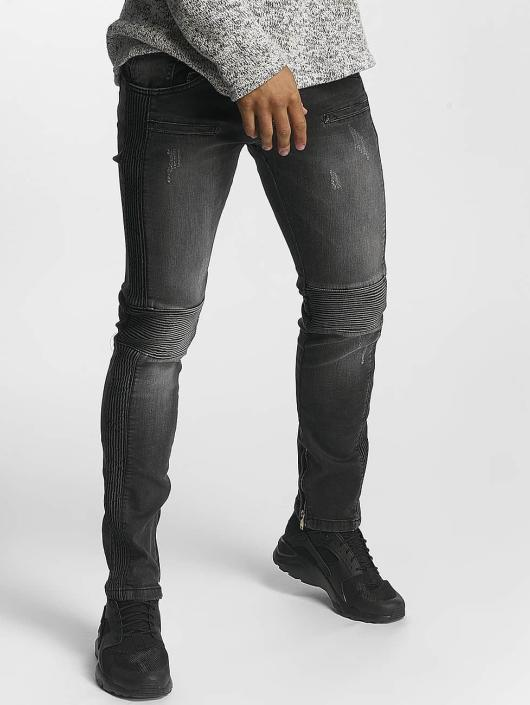Leg Kings Slim Fit Jeans Guiliano èierna