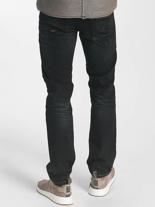 Leg Kings Slim Fit Jeans Washed schwarz
