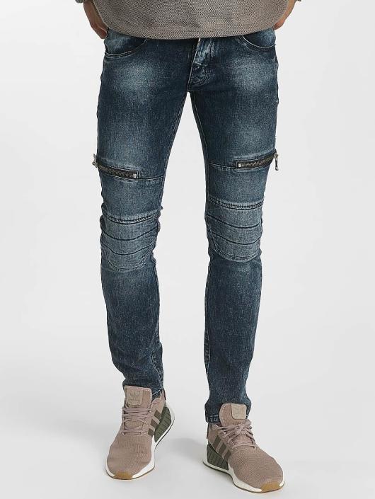 Leg Kings Tynne bukser Zipper blå