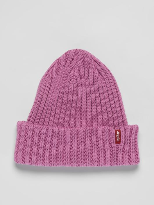 Levi's® Beanie Ribbed pink