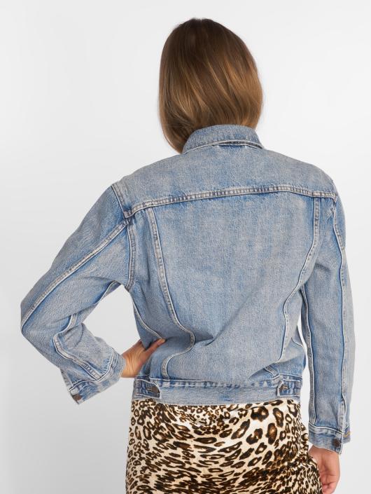 Levi's® Giacca Jeans Exboyfriend Trucker Denim blu