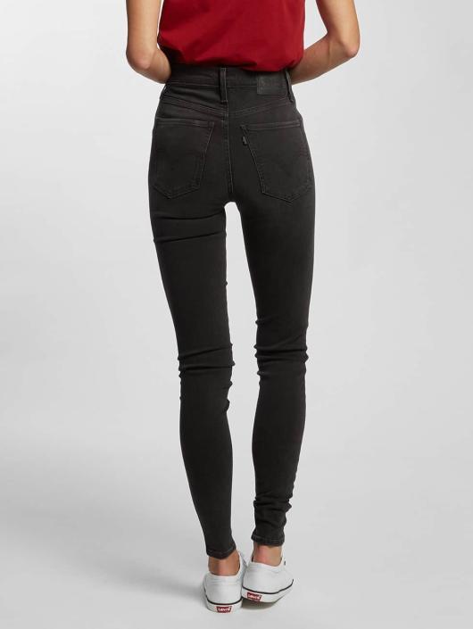 Levi's® High Waisted Jeans Mile High Super Skinny šedá