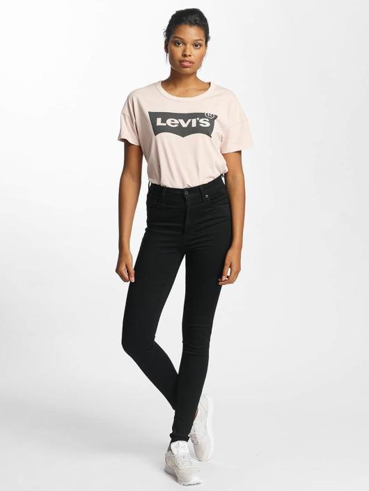 Levi's® High Waisted Jeans Mile High Super Skinny black