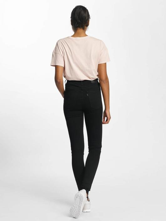 Mile High Jean Haute 345088 Noir Skinny Taille Super Levi's® Femme 5d8KwqxYdg
