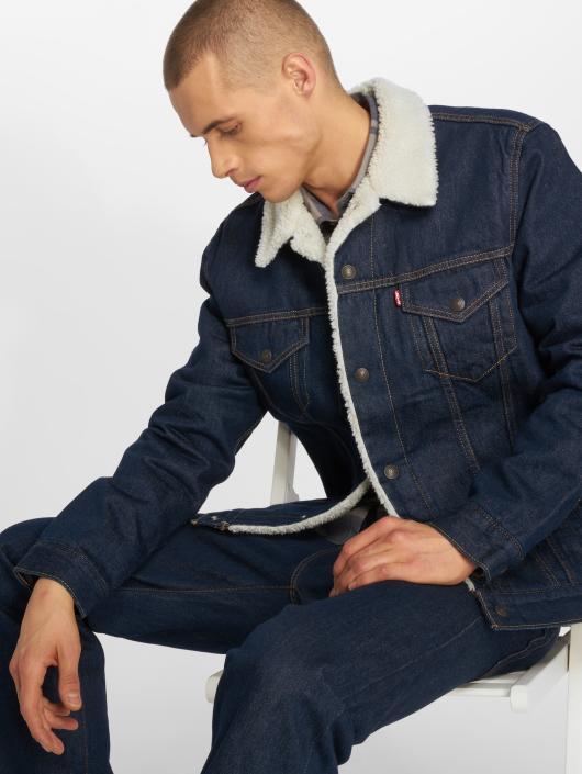 Levi's® Kurtka Dzinsowa Type niebieski