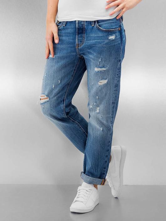 Levis Damen Loose Fit Jeans 501 In Blau 335597