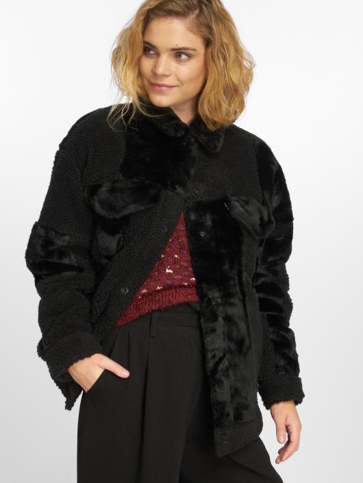 Levi's® Manteau hiver Patchwork Baggy Trucker noir